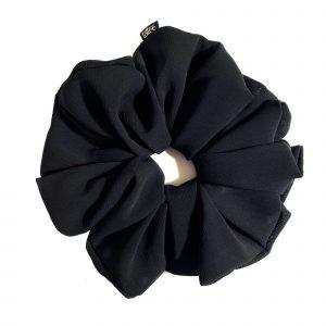 Black XL Scrunchie